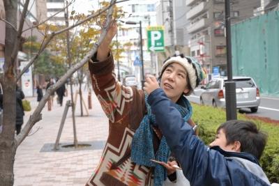 ワークショップ「街路樹のささやき」